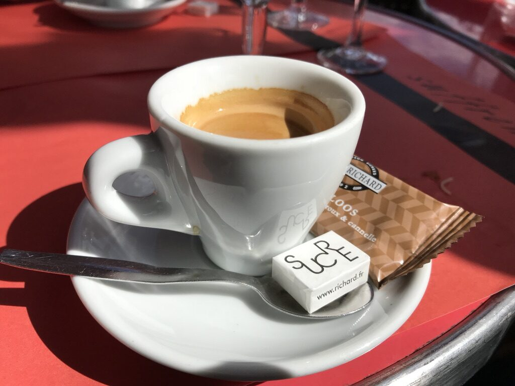 French Cafe and a Vision