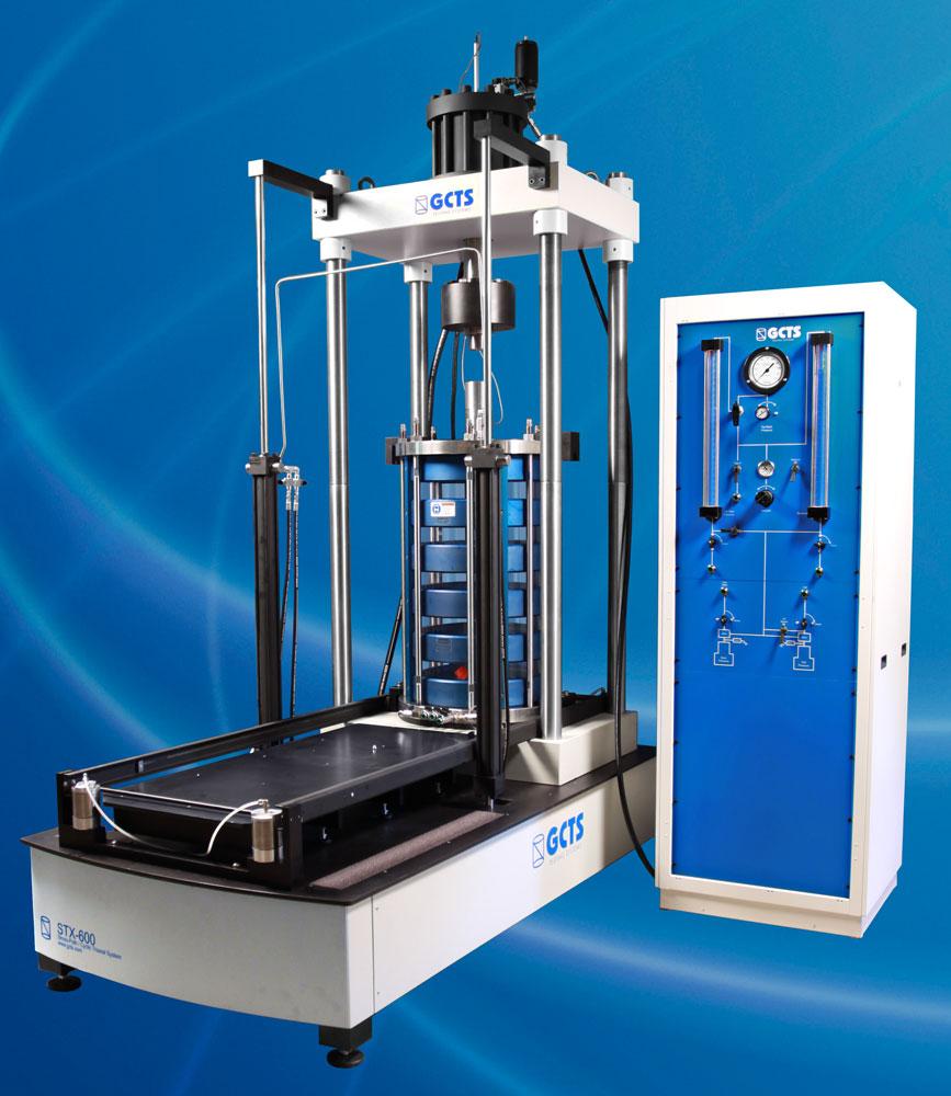 triaxial testing equipment