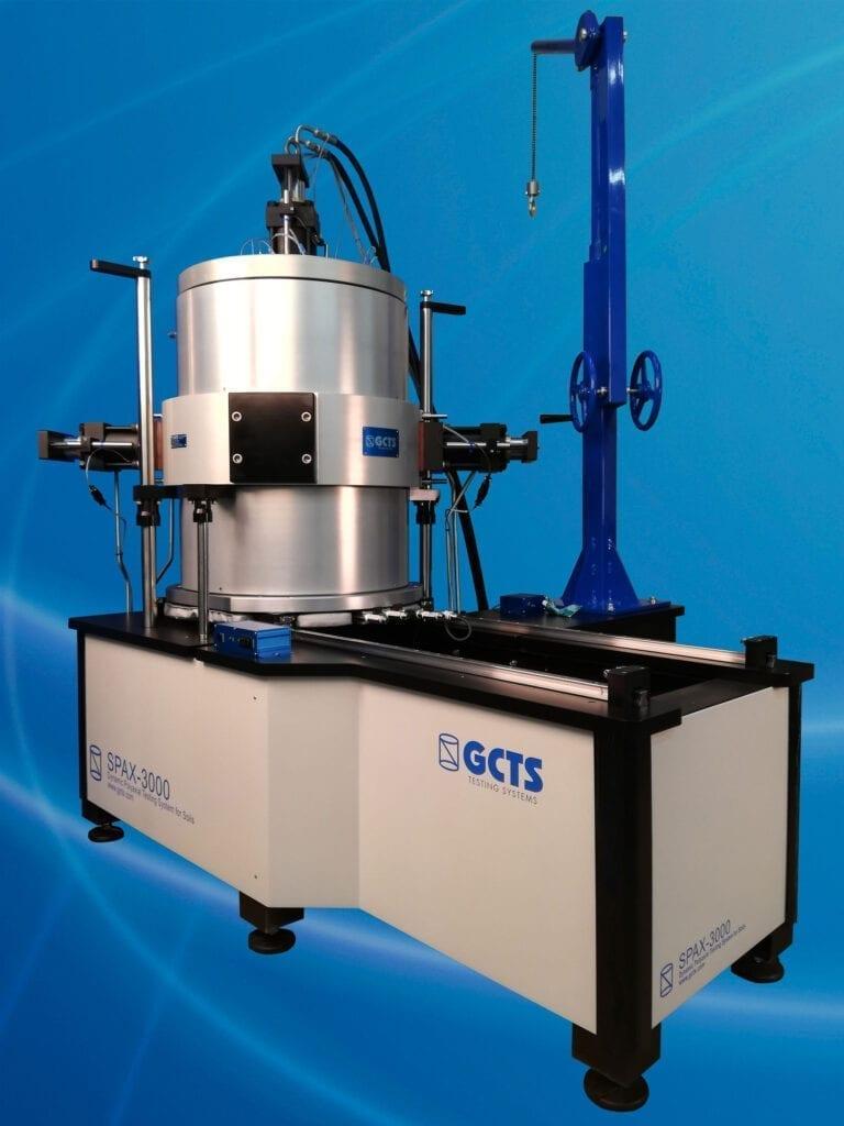 SPAX-3000 Dynamic Polyaxial Testing System