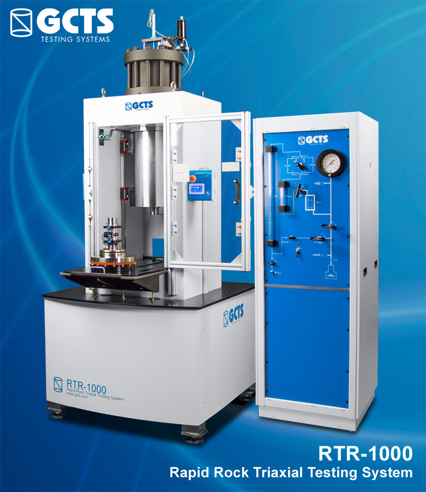 RTR-1000 Rapid Rock Triaxial Testing System