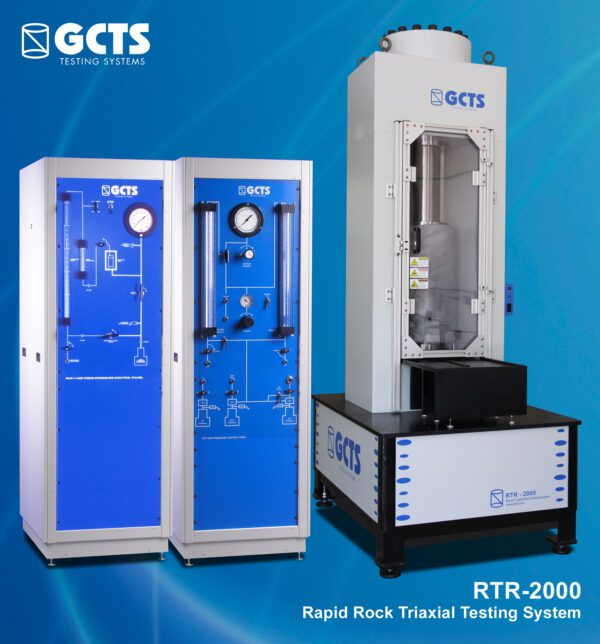 RTR-2000 Rapid Rock Triaxial Testing System