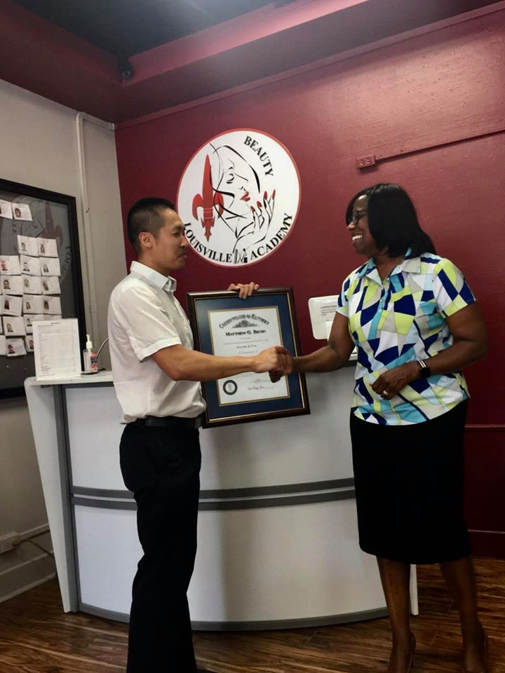 Di Tran awarded Kentucky Colonel