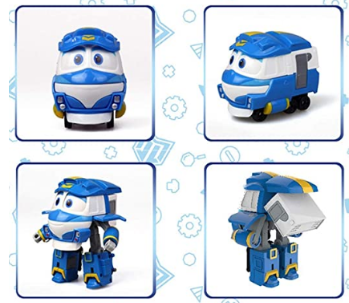 "Robot Train Season 2 Korean Animation Transforming Robot 5"" Kay"