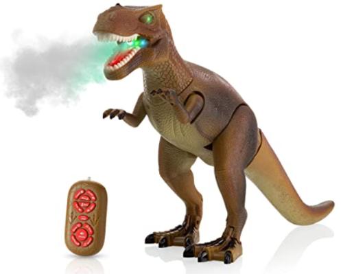 Advanced Play Dinosaur Trex Toy Realistic Walking Tyrannosaurus Rex Multifunction RC Trex Toy Figure