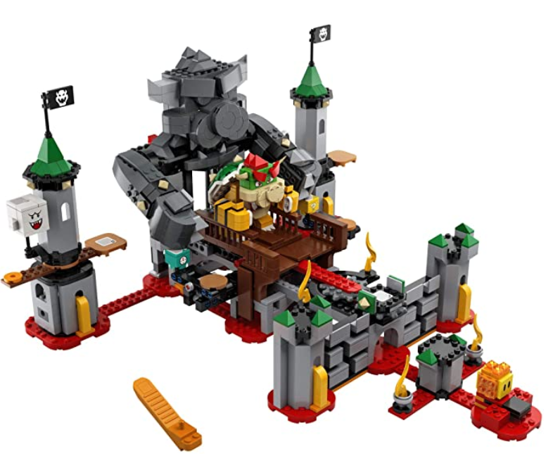 LEGO Super Mario Bowser's Castle Boss Battle Expansion Set 71369 Building Kit.