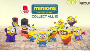 McDonalds Happy Meal Minion Giveaway