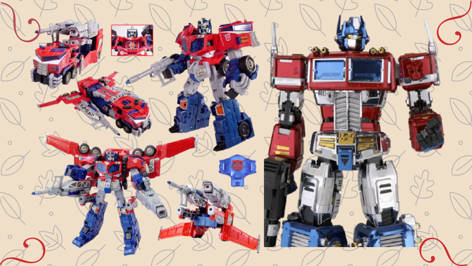 Best Optimus Prime toys.