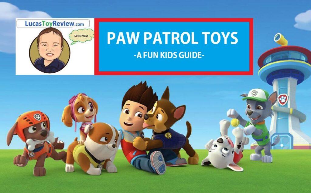 paw patrol toys
