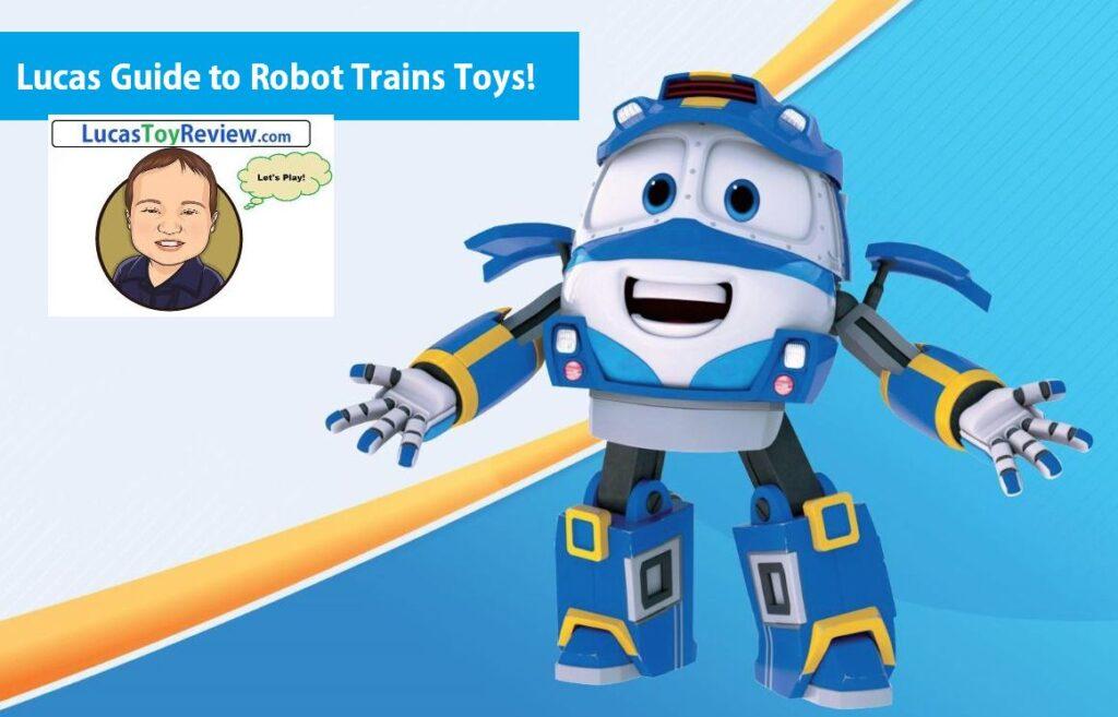 robot train toys