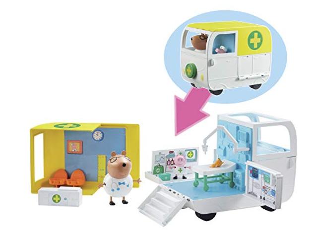 Peppa Pig 6722 Mobile Medical centre, Multi-colour