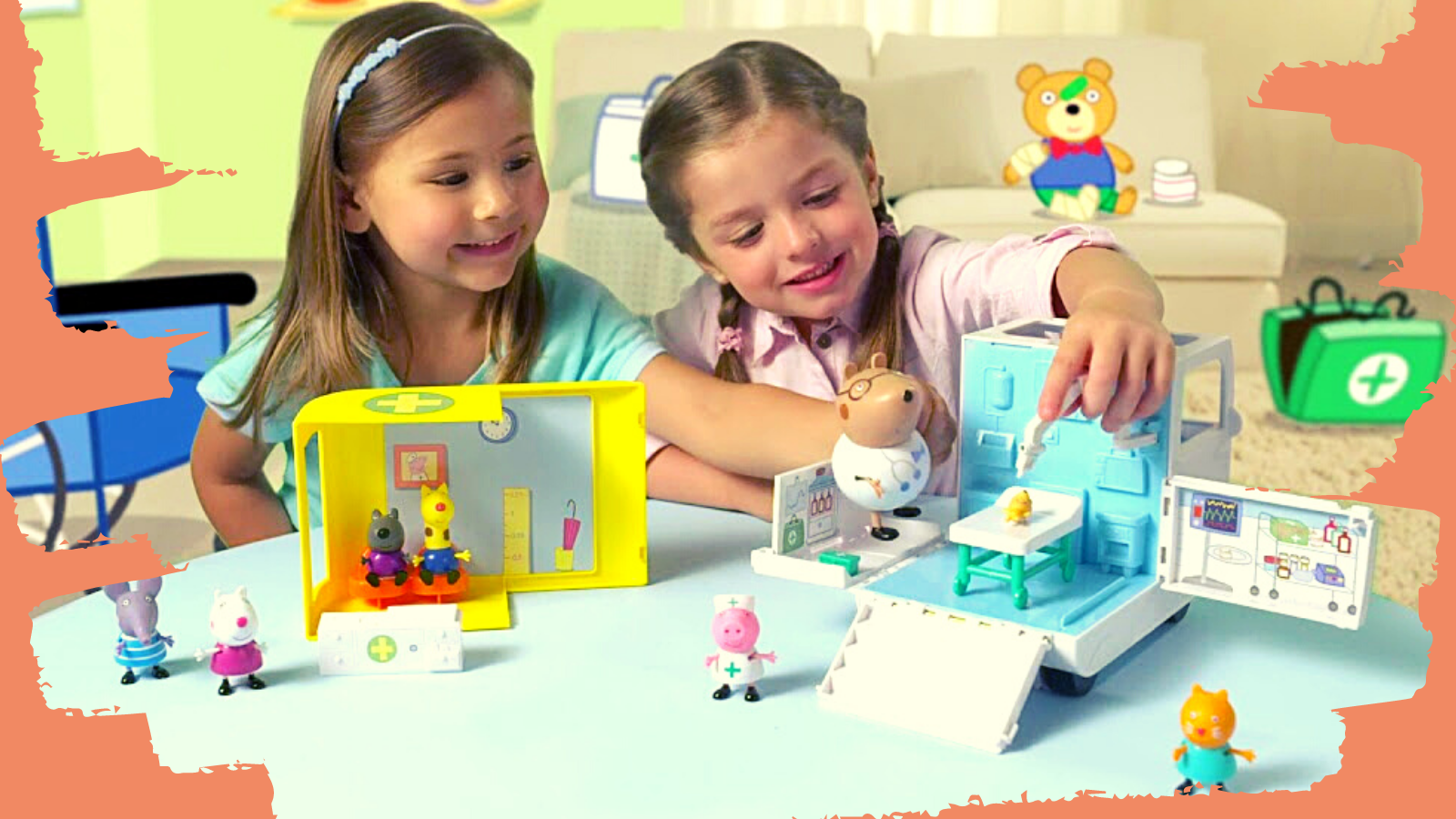 Kids Playing with best Peppa Pig Toys.