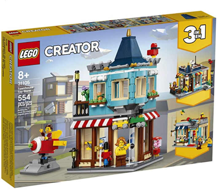 LEGO Creator 3in1 Townhouse Toy Store 31105.