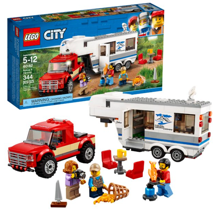 LEGO City Pickup & Caravan 60182 Building Kit