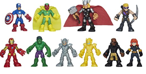 Playskool Heroes Marvel Super Hero Adventures Ultimate Super Hero Set, 10 Collectible