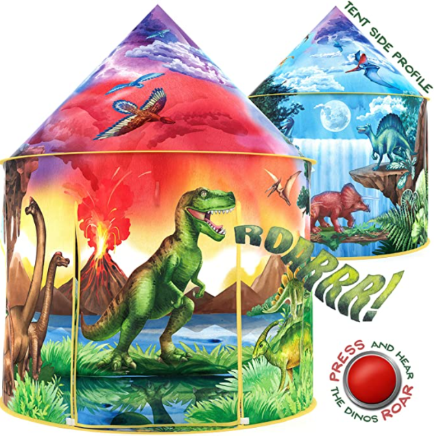 W&O Dinosaur Discovery Kids Tent