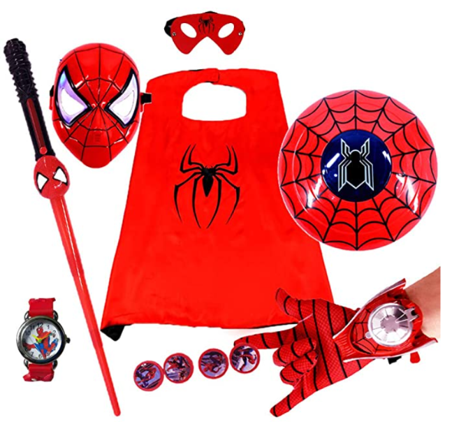 7PC Spiderman Toy Set