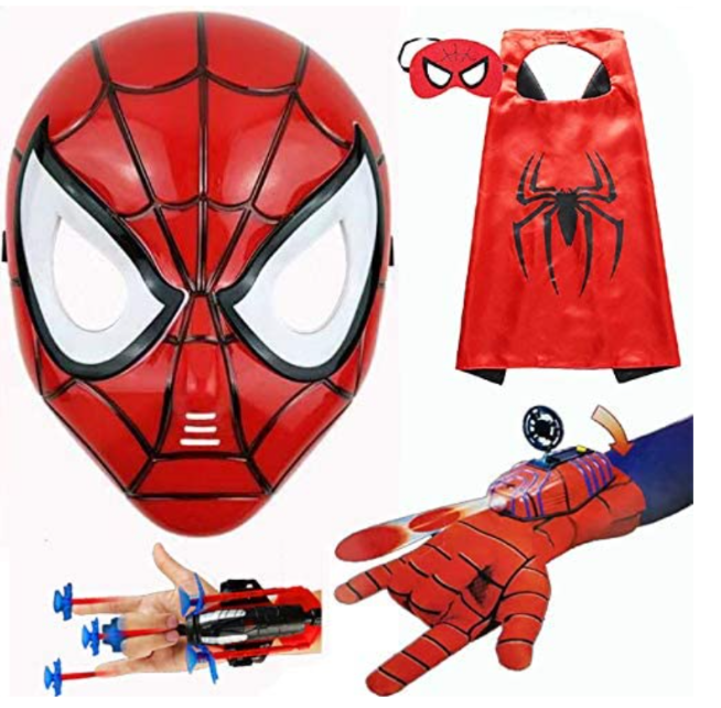 Children's Superhero Toy Game Pack