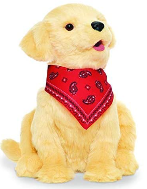 JOY FOR ALL - Golden Pup with Red Bandanna