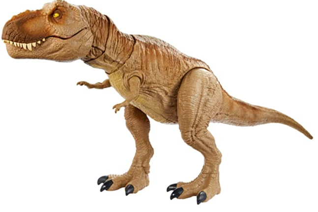 Jurassic World Camp Cretaceous Isla Nublar Epic Roarin' Tyrannosaurus Rex Large Action Figure