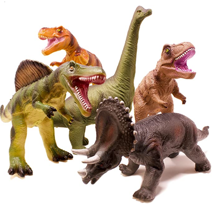 Boley 5 Piece Jumbo Dinosaur Set