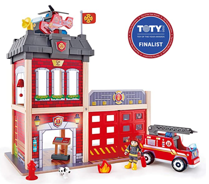 Hape Fire Station Playset