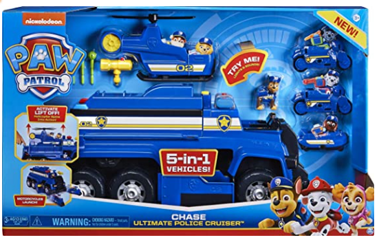 Paw Patrol, Chase's 5-in-1 Ultimate Cruiser.