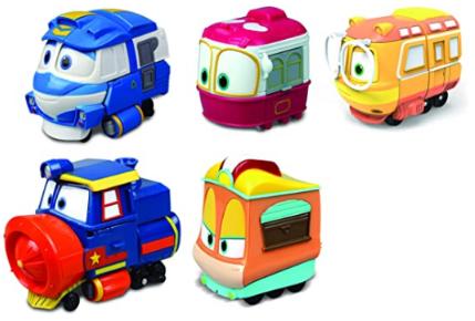 Robot Train Die Cast 80154 Mini Vehicles