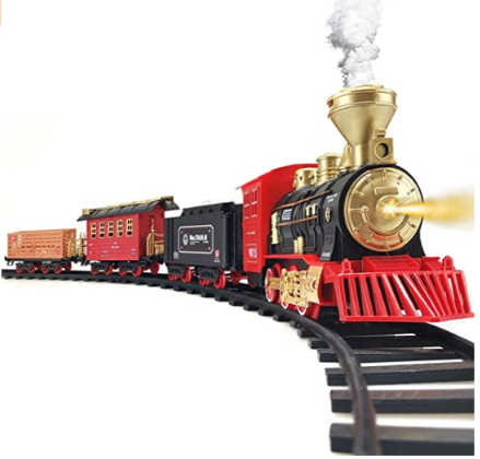 Train Set - 2020 Updated Electric Train Toy
