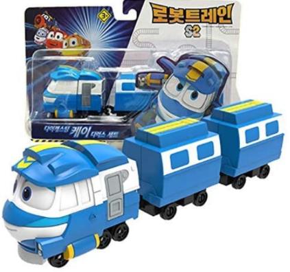 Robot Trains Season 2 Korean Animation Character
