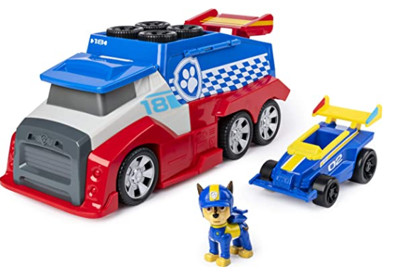Paw Patrol, Ready, Race, Rescue Mobile Pit Stop Team Vehicle
