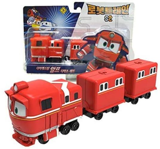 Robot Trains Season 2 Korean Animation Character Die-Casting Alf Deluxe Set
