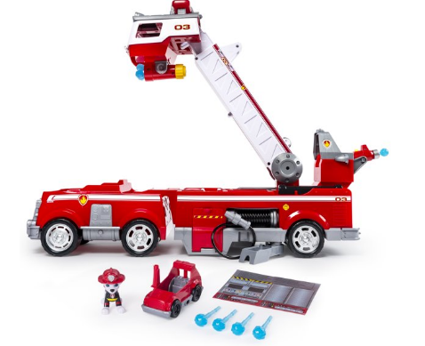 Paw Patrol Ultimate Rescue Fire Truck.