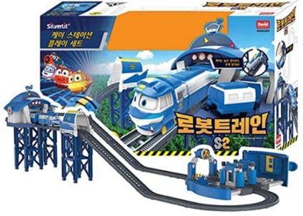 Robot Train Season 2 Kay's Station Play Set