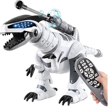 Fistone RC Robot Dinosaur Intelligent Interactive Smart Toy