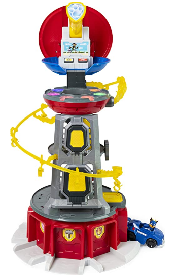 PAW Patrol, Mighty Pups Super PAWs Lookout Tower Playset