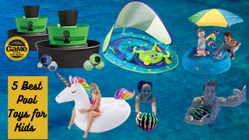 The 5 Best Pool Toys for Kids feature image.