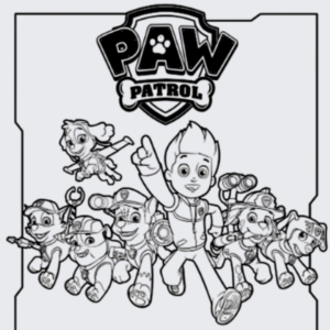 Best sites for Paw Patrol coloring pages