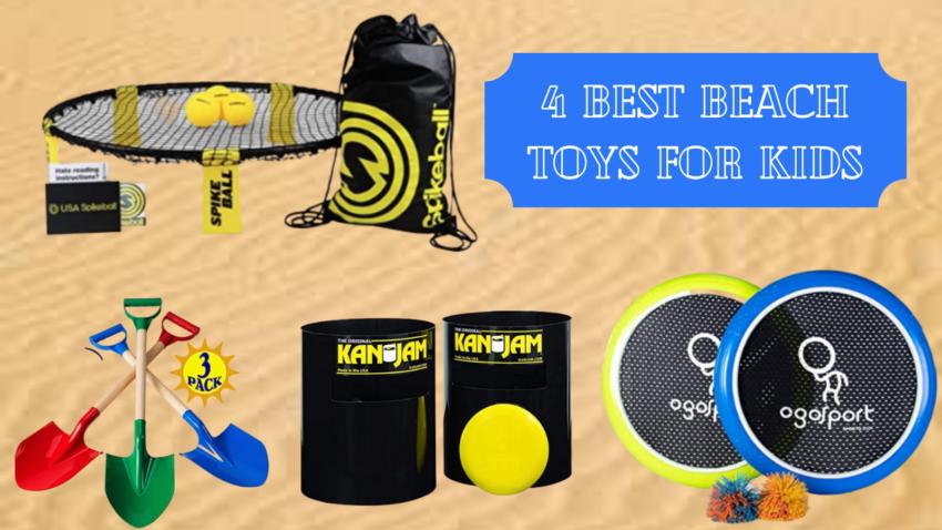 Best Beach Toys for Kids.