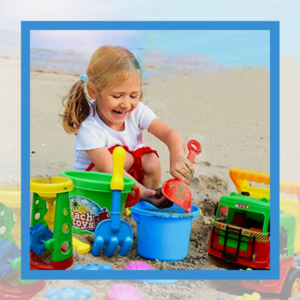 It's final stop on hunt for the Best Beach toys for Kids.