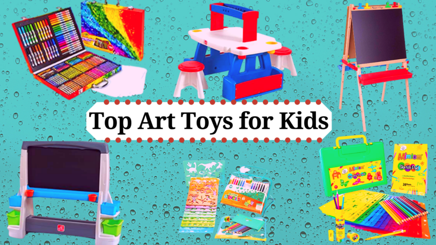 Top Art toys for Kids.