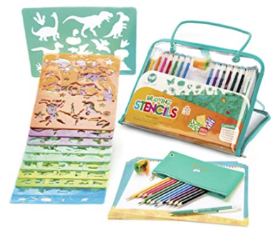 creabow crafts stencils and drawing kit.