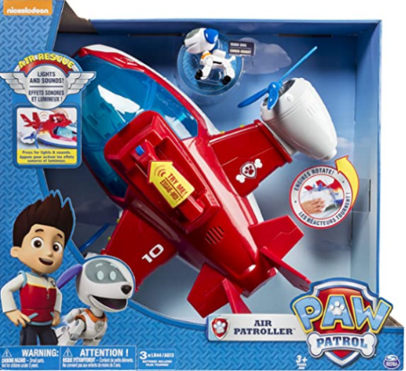 Paw Patrol, Lights and Sounds Air Patroller Plane.