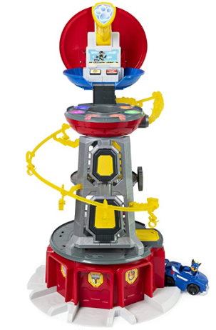 PAW Patrol Mighty Pups Super Paws Lookout Tower.