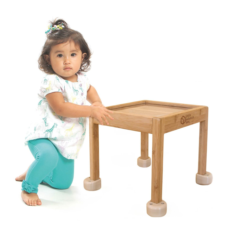Little Balance Box™ Beige Kneeling