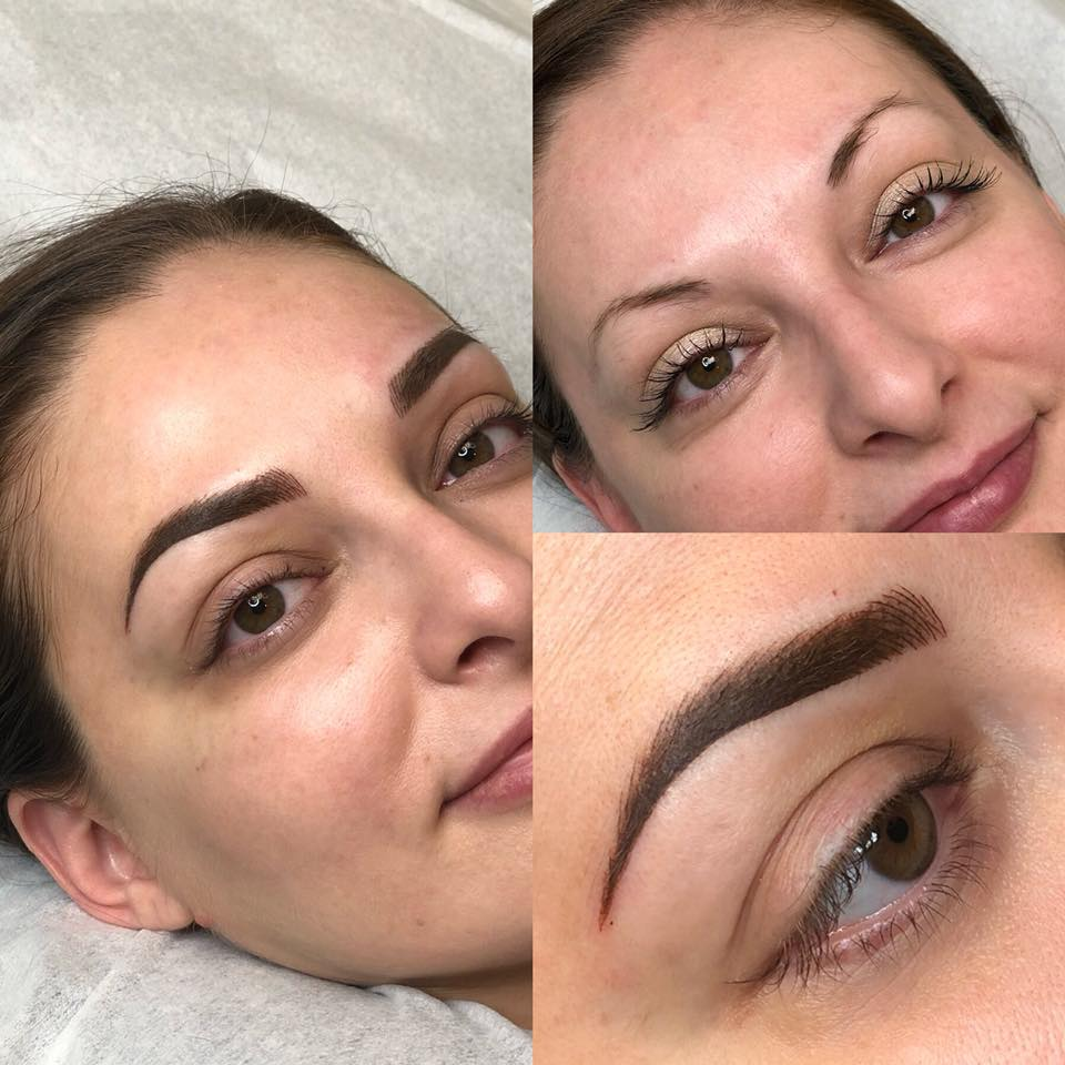 Powdered Brows Permanent Eyebrow Makeup Sabria Bullaku Ottawa