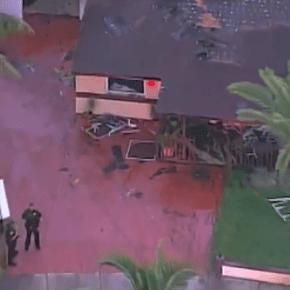4 OK after fire erupts inside home near Fort Lauderdale