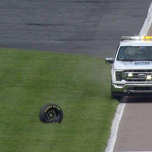NASCAR'S ELTON SAWYER BREAKS DOWN UNCONTROLLED-TIRE DECISION ON PIT ROAD