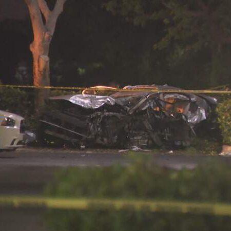 Violent crash involving multiple vehicles kills 2, injures others