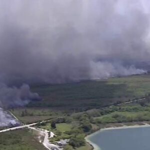 Fire prompts Card Sound Road closure in Miami-Dade