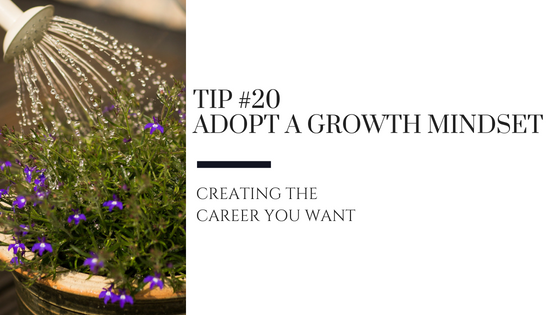 Creating the Career You Want – Tip #20